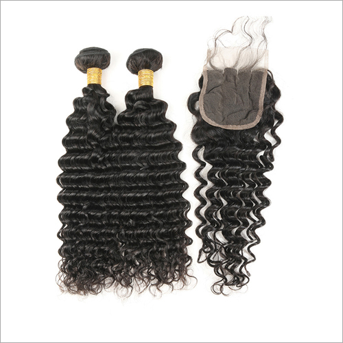 Deep Curl Remy Hair Extensions