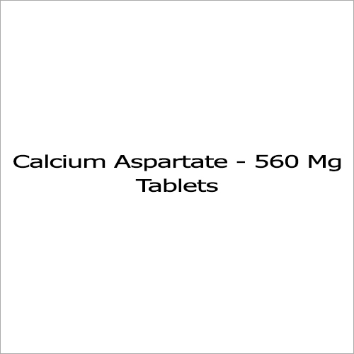 560 Mg Calcium Aspartate
