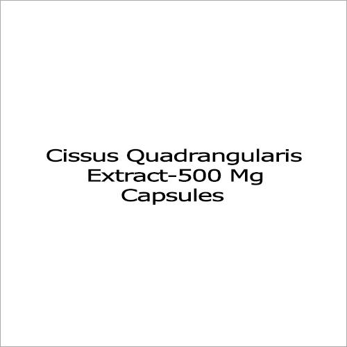 500 Mg Cissus Quadrangularis Extract Capsules