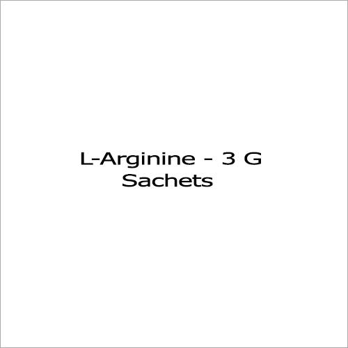 L-Arginine - 3 G Sachet