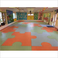 Interlocking Rubber Flooring Tiles