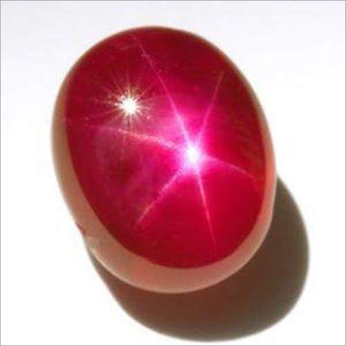 Natural Ruby Star Gemstone