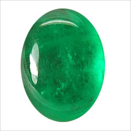 Emerald Cabochon Gemstone