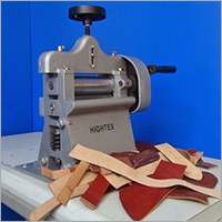 Hand Crank Leather Splitting Machine