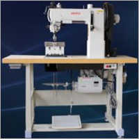 Post Bed 2 Needle Thick Thread Sewing Machine.