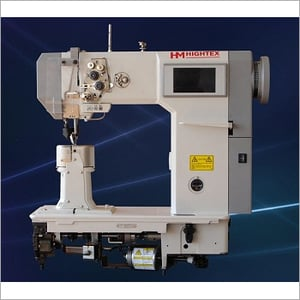 Double Needle Post Bed Shoe Upper Sewing Machine