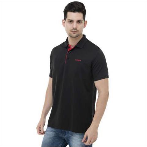Mens Red & Black T-Shirt