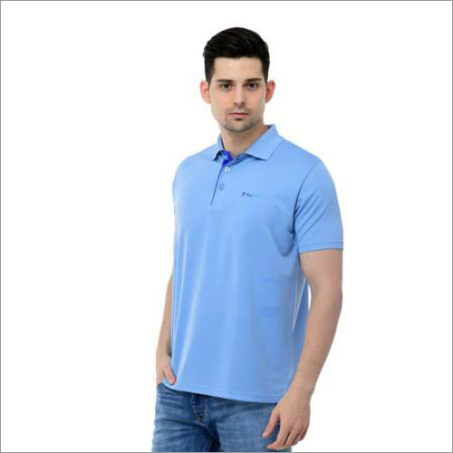 Mens Baby Blue & Royal Blue T-Shirt