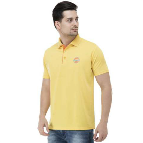 Promotional Mens Yellow T-Shirt