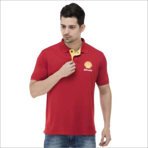 Promotional Mens Red T-Shirt