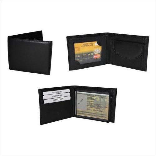 Black Leather Wallet