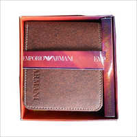 Bifold Brown Leather Wallet