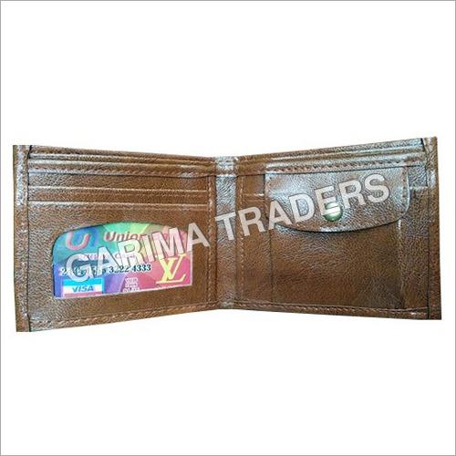 Biofold Brown Rexine Wallet