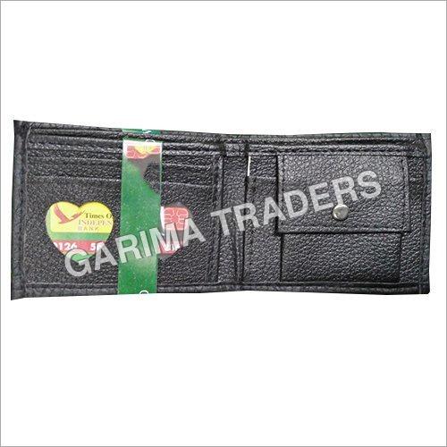 Black Rexine Wallet