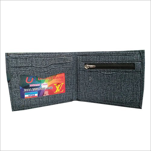 Biofold Denim Wallet
