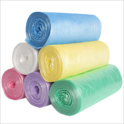 Colored Compostable Garbage Bag Roll