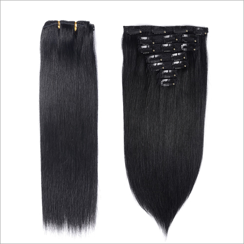 Machine Wefts Human Hair Extensions