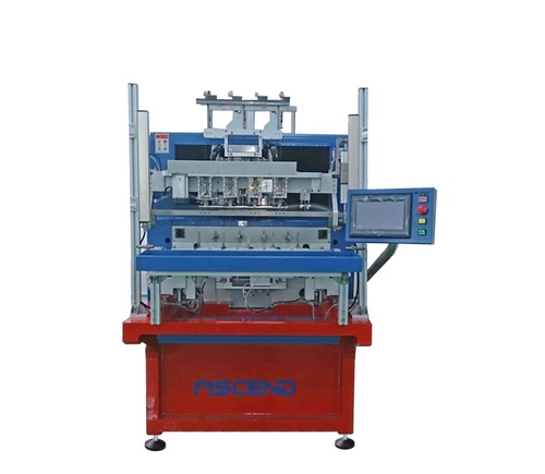Four-Axis Automatic Winding Machine with Enamel Wire Stripper