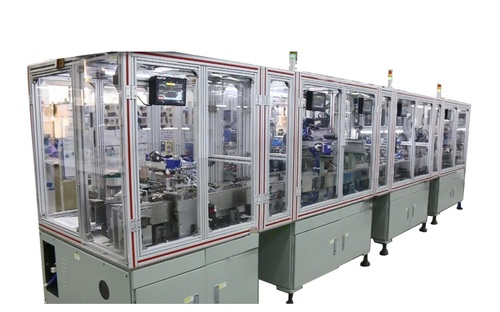 Fully Automatic Chip Inductor Winding (Production Line)