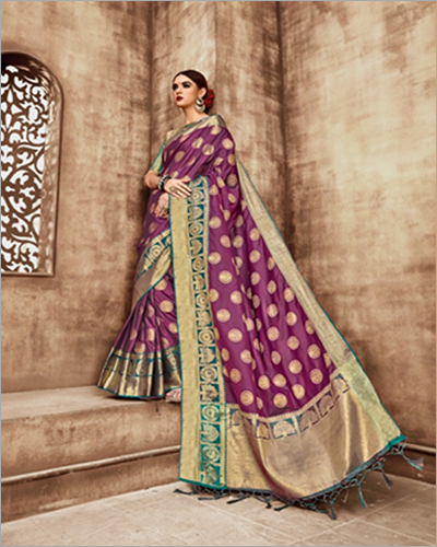 Beguiling Printed Saree