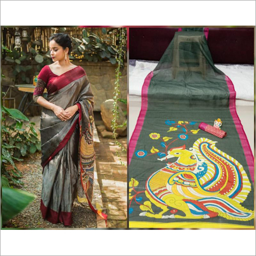 Model Silk Saree