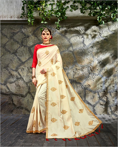 Satin Silk Digital Print Saree