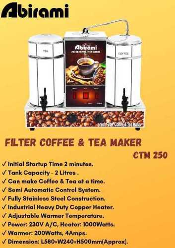 Tea Making Machine