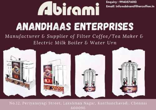 Abirami Filter Coffee & Tea Maker & Electric Milk Boiler