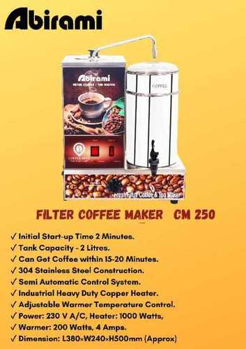 Electrical Coffee Making Machine