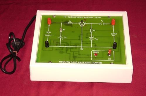 Common Base Transistor Amplifier Kit