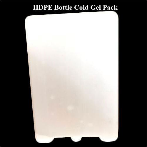 HDPE Bottle Cold Gel Pack