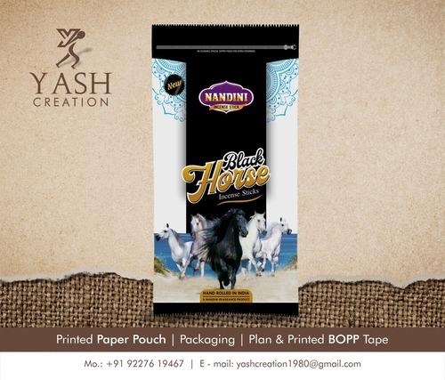Incense Stick Paper Pouch