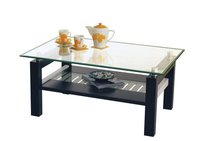 Wooden center coffee table Crystal