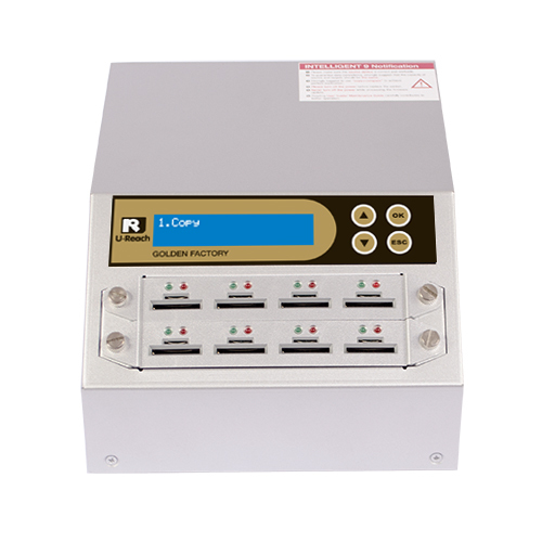 1 to 7 SD / microSD Duplicator and Sanitizer (SD908G)