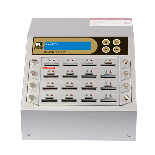 1 to 15 SD / microSD Duplicator and Sanitizer (SD916G)