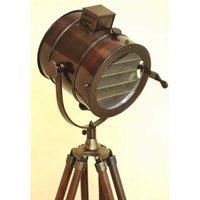 Floor Standing Brass Griffith Astro Double Barrel Telescope