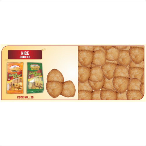 Sugar Coated Baked Cookie
