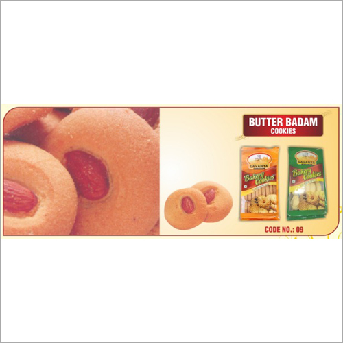 Butter Badam Cookie