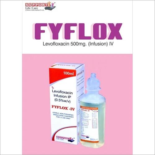 Levofloxacin  + Sodium Cl.