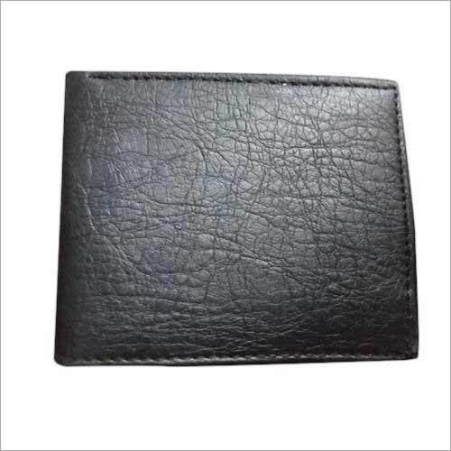 PU Leather Black Wallet