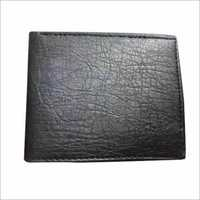 PU Leather Black Wallet