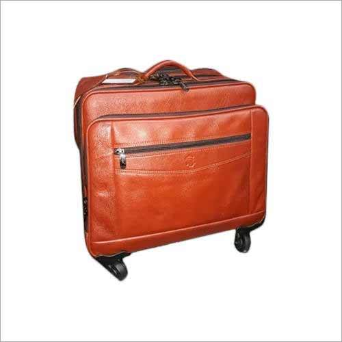 Leather Laptop Bag With Wheels
