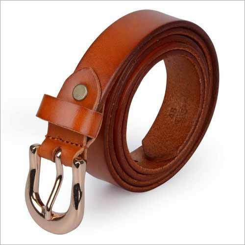 Ladies Plain Leather Belt