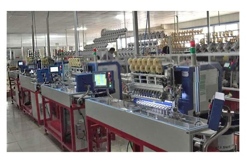 Automatic Winding, Taping and Soldering Machine (Assembly Line)