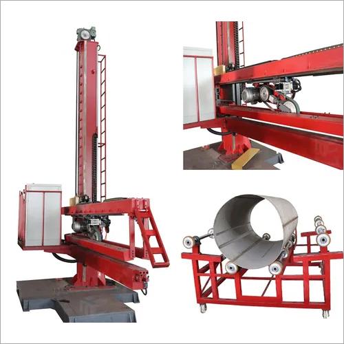Automatic Weld Seam Finishing Machine