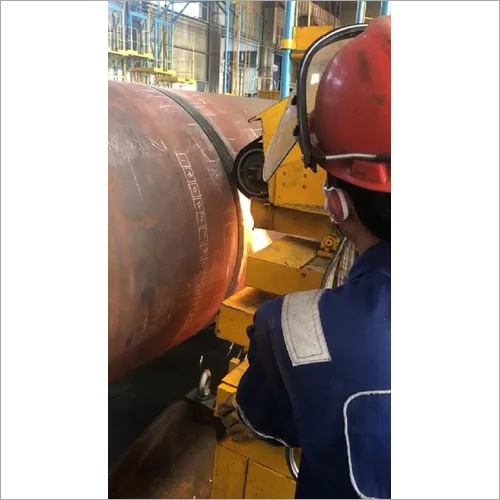 Industry pressure vessel ciruclar welding seam polishing machine
