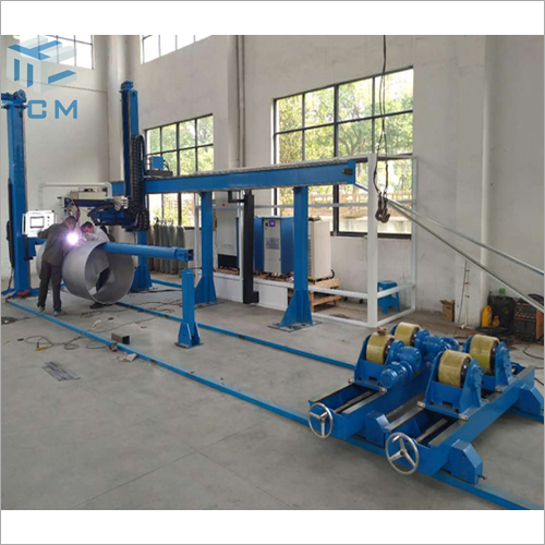Electric Steel Tank Automatic Welding Machine