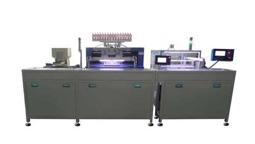 16 Spindle Automatic Winding and Soldering Machine
