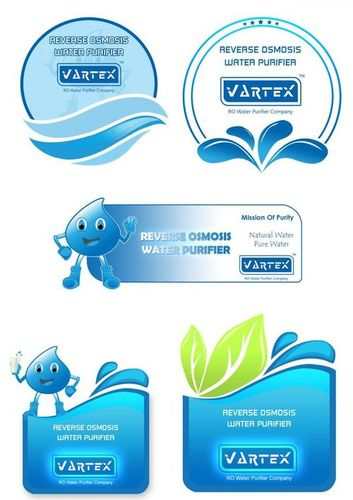 RO WATER PURIFIER STICKERS
