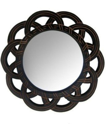 Wooden MDF Decorative Hand Carved Wall Mirror